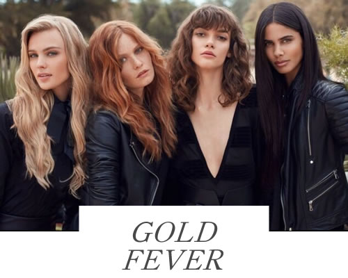 Gold Fever Hair Extensions