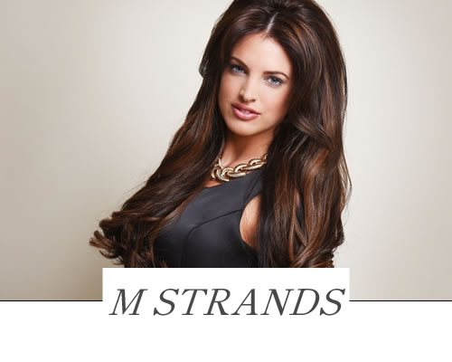M Strands derby Hair Extensions