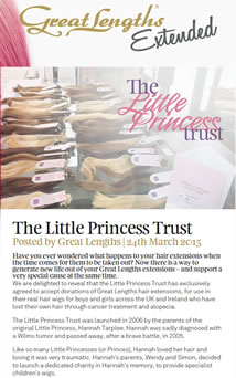 Little Princess Trust - 24 March 2015